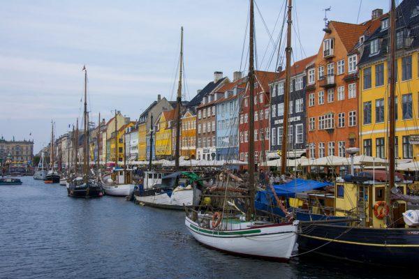 Viajar por Europa en bici: Copenhague