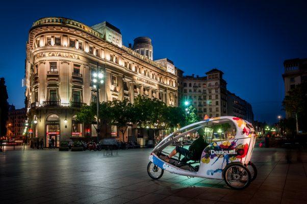 Viajar por Europa en bici: Barcelona