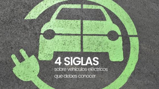 Siglas vehículos eléctricos